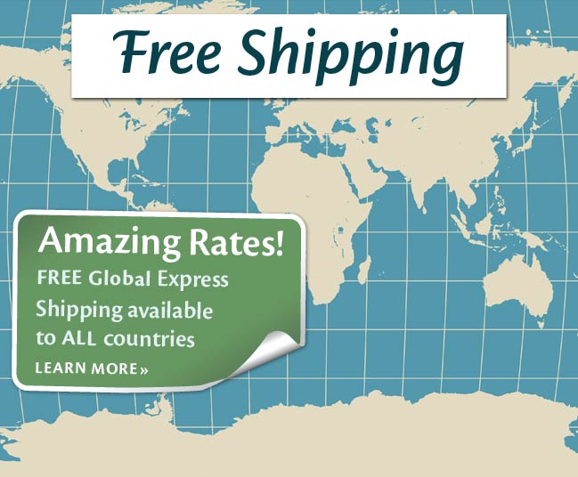 Free International Express Shipping